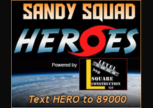 Sandy Squad Heroes Contest